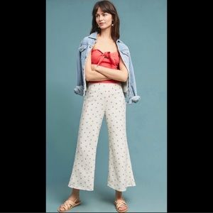 NWT-Anthropologie Talese Wide Legs Pants Sz. 6